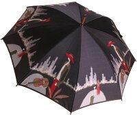 ◆愛の翼空港(長傘)ラベンダーモンブランヤマグチほぐし織り婦人雨傘