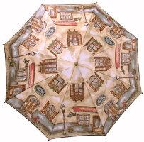 【NEW】窓(ダンテ)婦人雨傘・長傘モンブランヤマグチほぐし織り軽量カーボン骨バージョン(約360g)