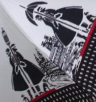 【ガス燈】モンブランヤマグチほぐし織り(二段折畳傘)