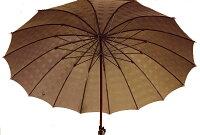 ★ギフトおすすめ品★お名前彫りの場合は4月上旬仕上Gentle16(ブラウン)楓(かえで)ハンドル皇室御用達前原光榮商店紳士雨傘