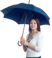 【UVカット日傘の決定版】★CXサラクール生地使用★UVカット日傘スタンダード-SC55(55cm長傘)ネイビー