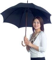 【UVカット日傘の決定版】★CXサラクール生地使用★UVカット日傘スタンダード-SC55(55cm長傘)ブラック