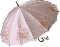 【とも生地外袋つき】皇室御用達前原光榮商店インペリアル16【クィーンズベリー・ピンク】爽やかさと愛らしさに充ち、好感度の高いエレガンスを演出した優しい彩クィーンズベリー・ピンク裏はベージュ系の御色になります