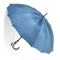【ご予約品】2017年1月中旬仕上がり予定前原光栄Bamboo16(ブルーグレー)「皇室御用達」前原光榮商店紳士雨傘いつまでも持ち続けたい傘。持つほどに愛着がわく紳士傘即納はできませんのでご了承ください)
