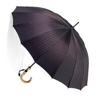 お名前彫りの場合は4月上旬仕上■EuroPrince16(ディープ・インディアンレッド)「皇室御用達」前原光榮商店紳士雨傘