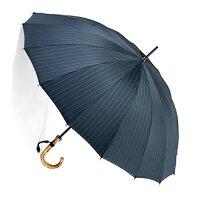 お名前彫りの場合は4月上旬仕上■EuroPrince16(アンティーク・グレイ)「皇室御用達」前原光榮商店紳士雨傘