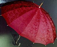 【受注作成】4月中旬仕上※お名前彫りの場合は4月下旬仕上Royal16(ワインレッド)【とも生地外袋つき】「皇室御用達」前原光榮商店・婦人雨傘