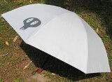史上最強の男性用日傘男の日傘 McRossa(マクロッサ)Ver.3【色】Perpetual Gray(パーペチュアル・グレー)遮光100%UVカット99%以上 ヒートブロック遮熱仕様※二段おりたたみ傘です。長い傘ではありません