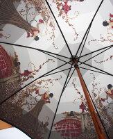 ◆舞姫(フラワーガール)レイユールrayures【モンブランヤマグチほぐし織り】最高級婦人長傘