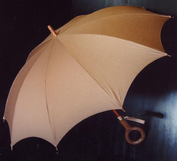 ご納期 【大阪日傘】 昭和より愛され続ける大阪の逸品米田正一◆インディアンヘッド日傘 です /(長傘/) 約3週間頂戴しております※ハンドルは /(長傘/) 「だ円形」