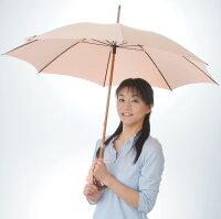 【UVカット日傘の決定版】★CXサラクール生地使用★UVカット日傘スタンダード-SC55(55cm長傘)サモンピンク