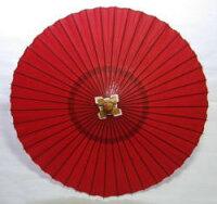 ◆ストリート蛇の目(赤)藤沢商店の和傘
