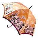 【送料無料】【楽ギフ_包装選択】婦人傘マンハッタナーズMASTERPIELE COLLECTION「自由それとも名声」レディースワンタッチ雨傘【あす楽対応_関東】