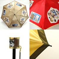 マンハッタナーズAPPLAUSE「賞賛」レディース丸ミニ雨傘(折畳)