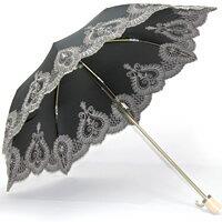 紫外線を99%カットし、暑くまぶしい光も99%以上カットする頼れる一級遮光の晴雨兼用傘♪【送...