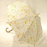 和風傘レディース晴雨兼用傘(木棒・手開き)傘柄春第3弾10