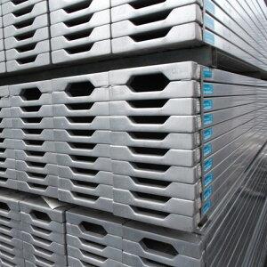 バラ売りOK!建設用仮設資材の鋼製軽量足場板【新品】軽量足場板 403 [販売]