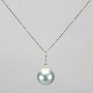 幻の真珠神々の涙、真珠。黒蝶貝から採れるシルバーグレーは極めて数が少なく、シルキーな柔ら...