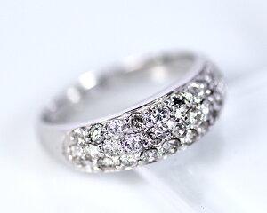 K18WG1.0ctダイヤモンドパヴェリング