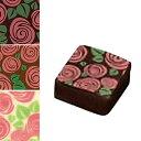 チョコレート 転写シート フローレ 花柄 1枚