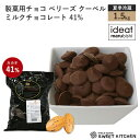【PB】製菓用チョコ ベリーズ クーベルチュール ミルクチョ...
