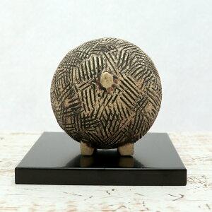 【敷板付き】ino(白)<陶芸家三木尚>開運・招福の願いを込めた新年の縁起物陶器製干支置物