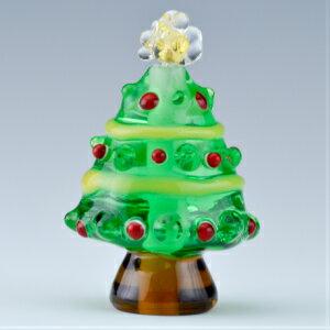 クリスマスツリー<とんぼ玉作家小川郁子>