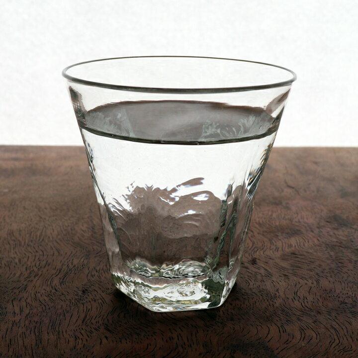 ロッカクグラス S<ガラス工房 CRAFTHOUSE>