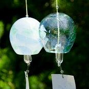 吹きガラス作家手作り!ガラスの風鈴jelly<ガラス作家清水柾>