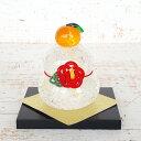 ガラスの鏡餅と今年のお正月飾り おうちごはんとおかしとねこ Powered By ライブドアブログ