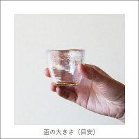 華正蒔絵ガラス[盃]神奈川沖浪裏