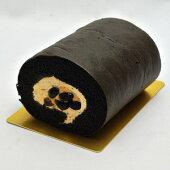 黒の忍者ロールケーキきなこクリームと黒豆が絶妙【クール生もの】【消費期限3日間】【デザート】