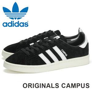 アディダス キャンパス スニーカー メンズ オリジナルス レディース ローカット シューズ ヌバック スウェード レザー ブラック 黒 靴 くつ クツ ユニセックス adidas Originals CAMPUS BZ0084 あす楽 即納