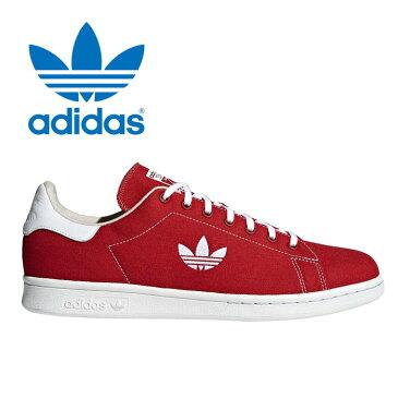 送料無料 アディダス adidas オリジナルス スタンスミス メンズ レディース スニーカー シューズ ローカット キャンバス 靴 レッド 赤 originals Stan Smith B37894 2018新作
