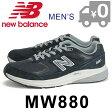 ニューバランス MW880 NA3 スニーカー メンズ フィットネス ウォーキングシューズ 幅広 靴 ローカット ネイビー new balance 送料無料