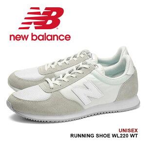 ec381f8ff6e77c 送料無料 ニューバランス WL220 New Balance スニーカー レディース ランニングシューズ 靴 トレーニング ローカット 女性 ホワイト  白 送料無料!!1980年代に ...