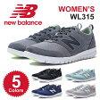 ニューバランス WL315 Dワイズ スニーカー レディース 女性 シューズ 靴 ローカット ブラック グレー ネイビー ブルー 黒 青 New balance WL315 送料無料