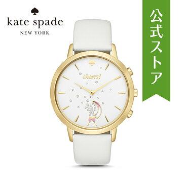 50%OFF ケイトスペード ハイブリッド スマートウォッチ 公式 2年 保証 Katespade iphone android 対応 ウェアラブル Smartwatch 腕時計 レディース グランド メトロ KST23104 GRAND METRO