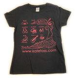 ケイトトスの復刻版限定販売オリジナルTシャツです。