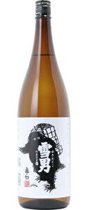 """・□【日本酒】鶴齢の辛口""""雪男""""1800ml"""