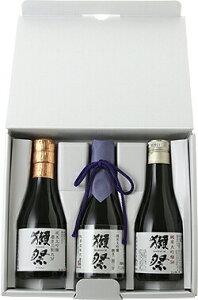 【お酒ギフト】獺祭(だっさい)お試しセット(180ml3本セット)