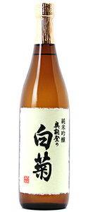 ○【日本酒】奥能登の白菊純米吟醸白ラベル1800ml