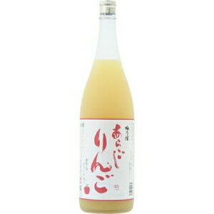 ☆【桃酒】梅乃宿(梅の宿)あらごしりんご酒7度1800ml