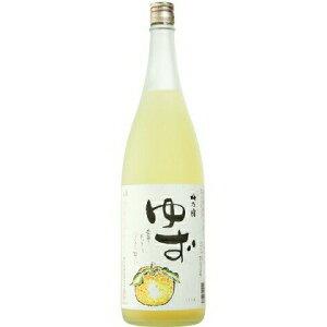 ○【柚子酒】梅乃宿(梅の宿)ゆず酒1800ml