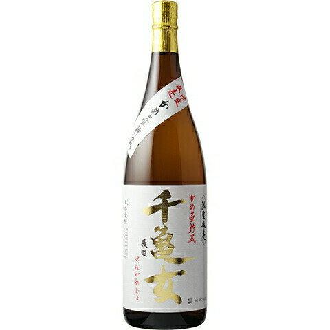 若潮酒造『本格焼酎 千亀女 麦製 かめ壺貯蔵』