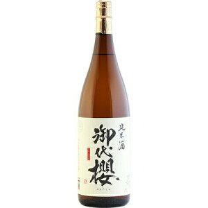 ○【日本酒】御代櫻醇辛純米酒1800ml