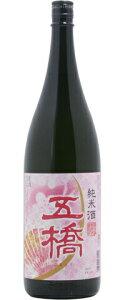 ☆【日本酒】五橋(ごきょう)純米春ラベル1800ml