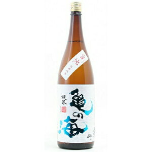 ☆【日本酒】亀の海(かめのうみ)旨口純米旨純1800ml
