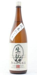 ☆【日本酒】天穏(てんおん)きもと仕込み純米にごり酒27BY1800ml