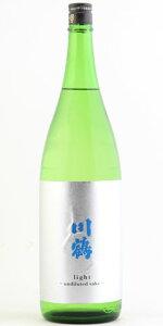 ☆【日本酒/夏酒】川鶴(かわつる)light純米吟醸1800ml